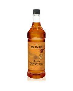 Monin Honey Sweetener - 1L Bottle