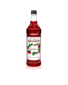 Monin Raspberry Syrup - 4/1L Bottles