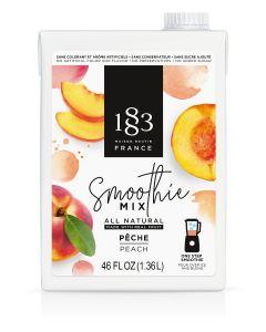 routin 1883 peach smoothie