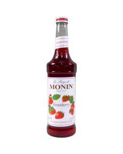 Monin Strawberry Syrup - 750ml Bottle