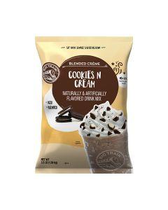big train frappe cookies n cream blended creme