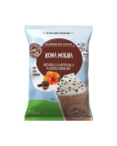 big train frappe kona mocha blended ice coffee