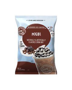 big train frappe mocha blended ice coffee