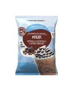 big train frappe reduced sugar mocha blended ice coffee