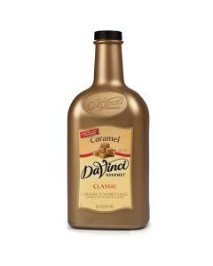 Davinci Caramel Sauce - 64oz Bottle