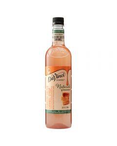 davinci naturals salted caramel syrup