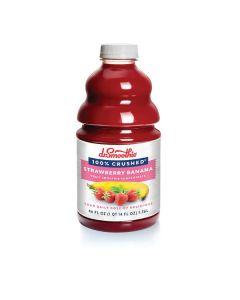 Dr. Smoothie 100 Percent Strawberry Banana - 46oz Bottle