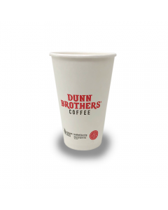 Dunn Brothers Hot Cups - 16oz 1000 Count