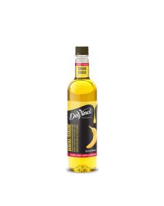 Davinci Banana Syrup - 4/750ml PET Bottles