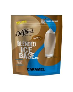 Davinci Blended Ice Base Caramel - 3lb Bag