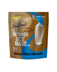 Davinci Blended Ice Base Non-Dairy Vanilla Freeze - 3lb Bag