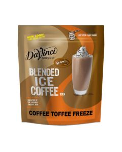 Davinci Blended Ice Coffee Coffee Toffee Freeze - 2.75lb Bag