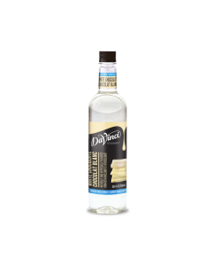 Davinci Sugar Free White Chocolate Syrup - 4/750ml PET Bottles