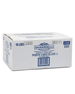 Ghirardelli Ground White Chocolate - 10lb Bag