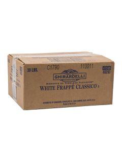 Ghirardelli Classic White Frappe - 10lb Bag