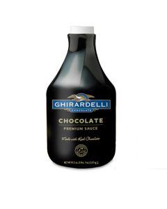 Ghirardelli Black Label Chocolate Sauce - 64oz Bottle