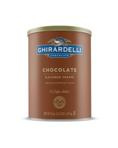 Ghirardelli Chocolate Frappe - 3lb Can