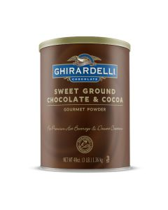 Ghirardelli Ground Chocolate - 3lb Can