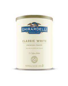 Ghirardelli Classic White Frappe - 3lb Can