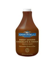 Ghirardelli Sweet Ground Chocolate Sauce - 64oz Bottle