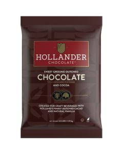 Hollander Sweet Ground Chocolate - 2.5lb Bag