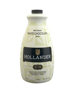 Hollander White Chocolate Sauce - 64oz Bottle