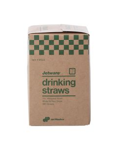 Straws Wrapped 7 3/4 - 300 Count
