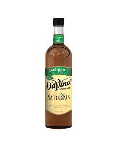 Davinci All Natural Madagascar Vanilla - 4/750ml PET Bottles