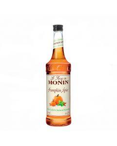 monin natural zero calorie pumpkin spice syrup