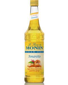 Monin Sugar Free Amaretto Syrup - 750ml Bottle