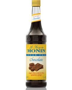 Monin Sugar Free Chocolate Syrup - 750ml Bottle