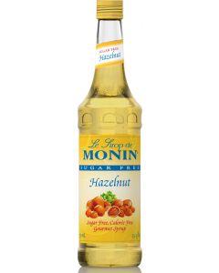 Monin Sugar Free Hazelnut Syrup - 750ml Bottle