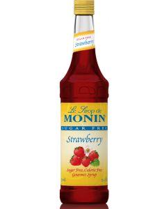 Monin Sugar Free Strawberry - 750ml Bottle