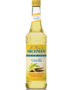 Monin Sugar Free Vanilla Syrup - 750ml Bottle
