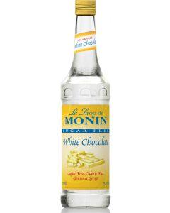 Monin Sugar Free White Chocolate Syrup - 750ml Bottle