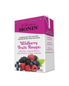 Monin Wildberry Smoothie - 6/46oz Cartons