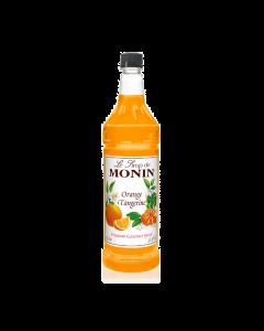 Monin Orange Tangerine Syrup - 4/1L Bottles