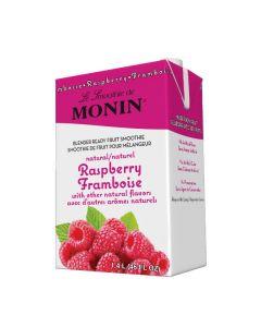 Monin Raspberry Smoothie - 46oz Carton