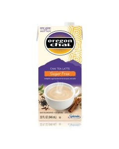 Oregon Chai Sugar Free - 6/32oz Carton