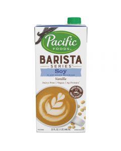 Pacific Barista Soy Vanilla - 12/32oz Cartons