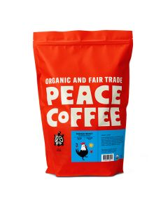 Peace Coffee French Roast - 5lb Bag Whole Bean