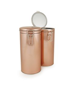 Rishi Large Latched Copper Tin - 5x9.76in