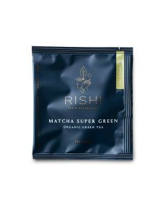 rishi matcha super green teabag