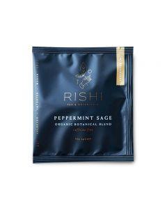 rishi peppermint sage teabag
