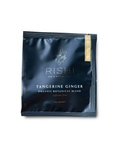 rishi tangerine ginger teabag