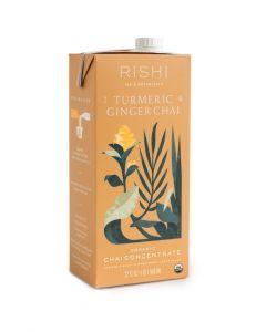 Rishi Turmeric Ginger Chai - 12/32oz Cartons
