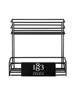 routin 1883 six bottle syrup rack