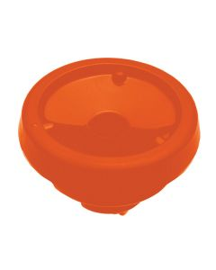 Service Ideas Lid - Orange Brew Thru for FVP