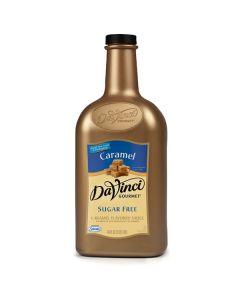 Davinci Sugar Free Caramel Sauce - 64oz Bottle