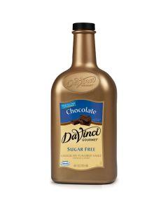 Davinci Sugar Free Chocolate Sauce - 64oz Bottle